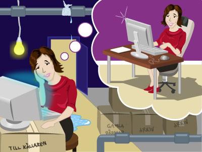 dålig arbetsmiljö på arbetsplats