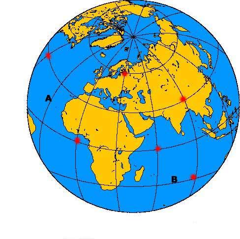 breddgrader karta Längdgrader och breddgrader   Längdgrader och breddgrader breddgrader karta
